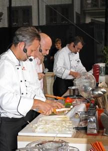 Kochspass vor Publikum